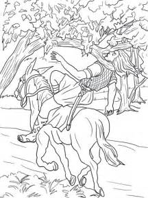 absalom death coloring page supercoloringcom