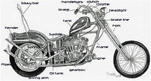 Parts Of Motorcycle