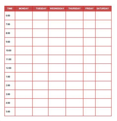 daily planner template word free daily planner templates free printables word excel