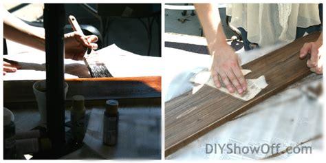 diy distressed painted wood plank signdiy