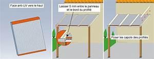 Plaque Alvéolaire Pour Toiture : pose plaque polycarbonate alv olaire rev tements ~ Edinachiropracticcenter.com Idées de Décoration