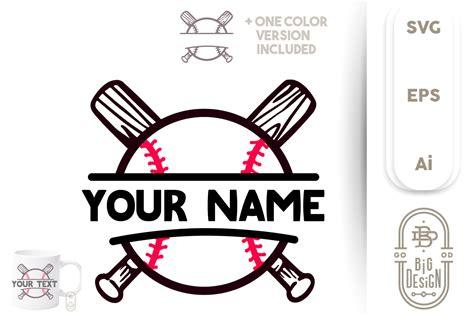 baseball  svg ball  bats custom personalized design
