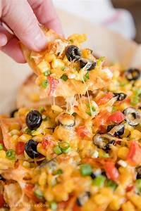 Loaded Chicken Nachos Recipe Mexican Chicken Cheese