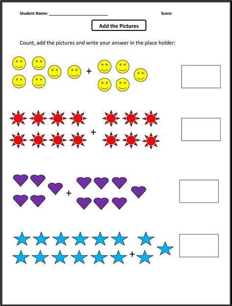 Worksheets For 1st Grade Math  Activity Shelter