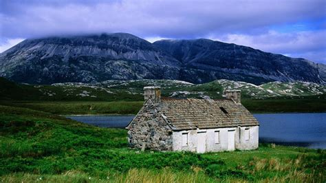 cottage scotland scottish landscape wallpapers best wallpapers