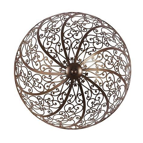 clip on ceiling shade in bronze by ballard designs