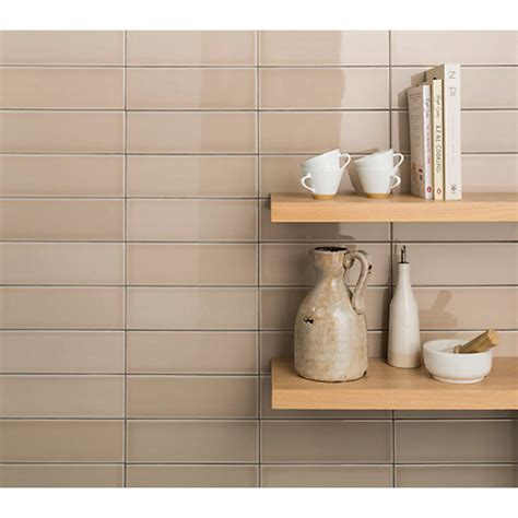 ceramic wall tiles for kitchen wickes soho ceramic tile 300 x 100mm wickes co uk 8120
