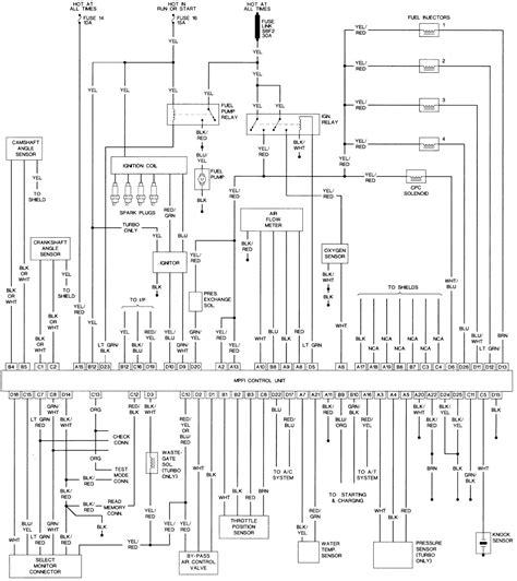 Subaru Radio Wiring Diagram Auto Electrical