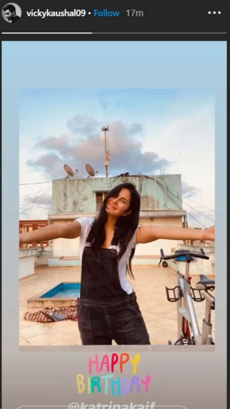 vicky kaushal wished alleged girlfriend katrina kaif
