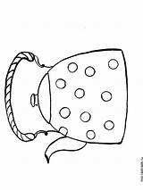 Kettle Coloring Pages Printable Recommended sketch template