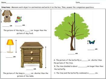 2nd grade eureka math module 2 shape measurement comparison worksheets centers