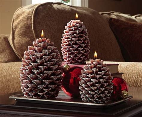 awesome pinecone decorations   holidays family