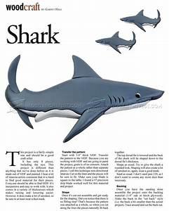Shark - Intarsia Patterns • WoodArchivist