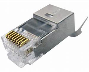 Cable Rj45 Cat 7 : shielded rj45 connector plug for cat6 cat6a cat7 ~ Melissatoandfro.com Idées de Décoration