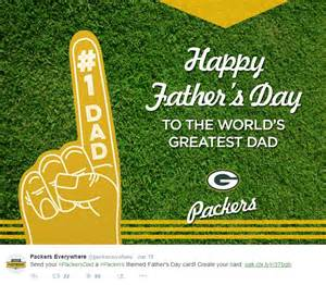 Green Bay Packers, Father's Day & Casey Hayward