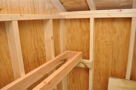 build shed storage shelves  project closer
