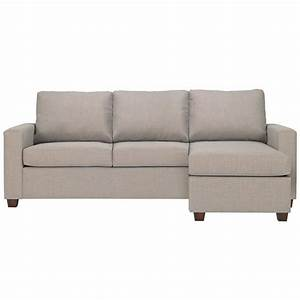 newport 3 seater fabric queen 4quot innerspring sofa bed with With queen sofa bed with chaise