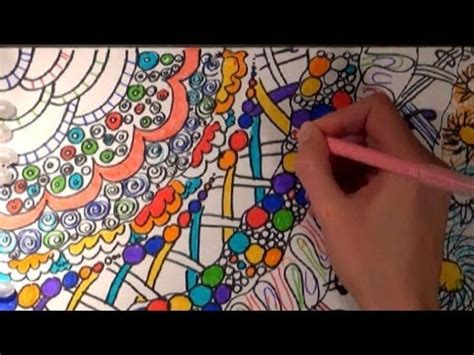 asmr drawing  coloring  markers whispering