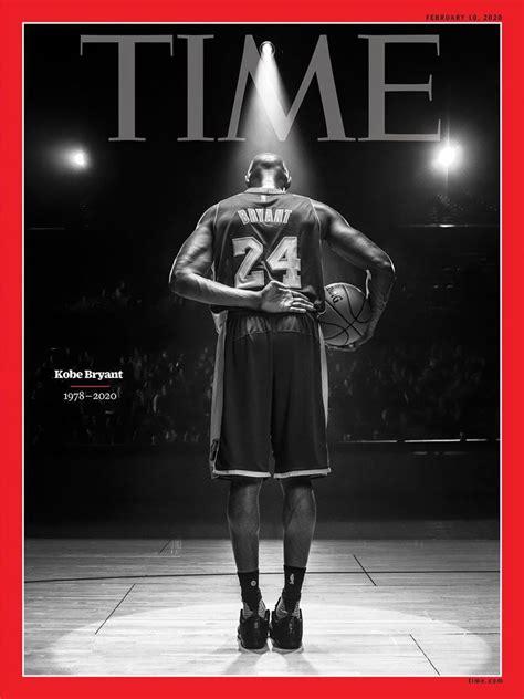 time magazine honours kobe bryant depicting  final bow