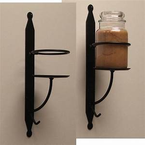wrought iron candle holder wall sconce candles more With wrought iron candle wall sconces