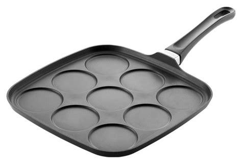 scanpan classic nonstick blinis pan  cutlery