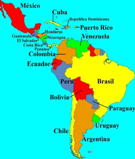 Is Latin America And South America The Same Continent? Quora