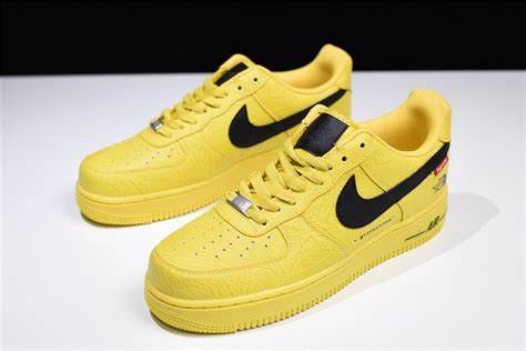 Nike Air 1 Low Supreme by Supreme X The X Nike Air 1 Low Yellow For