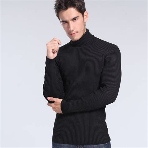 mens wool turtleneck sweater 2014 39 s turtleneck knitted sweater