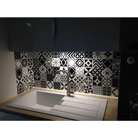 faience cuisine adhesive carrelage adhésif vintage bilbao patchwork smart tiles