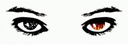 Fire Eyes Snow Animation Clipart Eye Clip