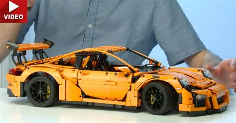lego technic porsche 911 gt3 rs lego technic 911 gt3 rs will set you back 299