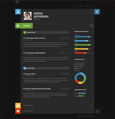 shiftcv resume portfolio puzzles