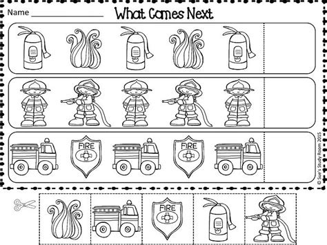 free patterns fire safety tpt free lessons