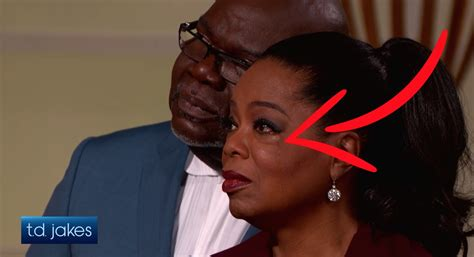 td jakes  oprah winfrey cry  expressing kindness