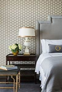Deco Wallpaper Designs 15 Captivating Bedrooms With Geometric Wallpaper Ideas