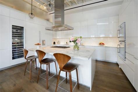 demi armoire cuisine cuisine avec îlot central 43 idées inspirations