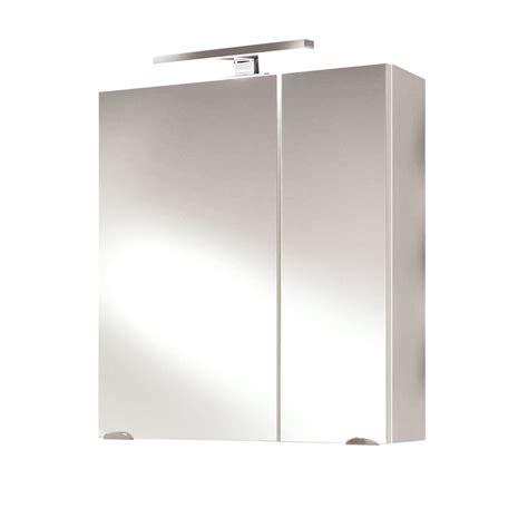 Badezimmer Spiegelschrank Weiß by Bad Spiegelschrank 2 T 252 Rig Mit Led Le 60 Cm Breit