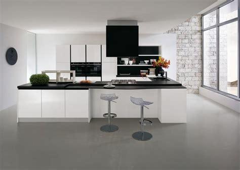 modele cuisine noir et blanc la cuisine blanche le des cuisines