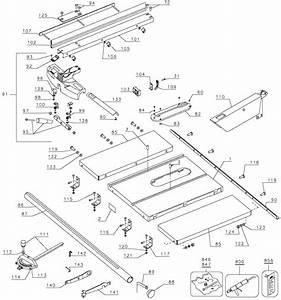 Dewalt Dw746 Woodworkers Table Saw Parts  Type 1  Parts