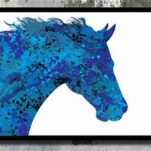 Shop Horse Watercolor on Wanelo