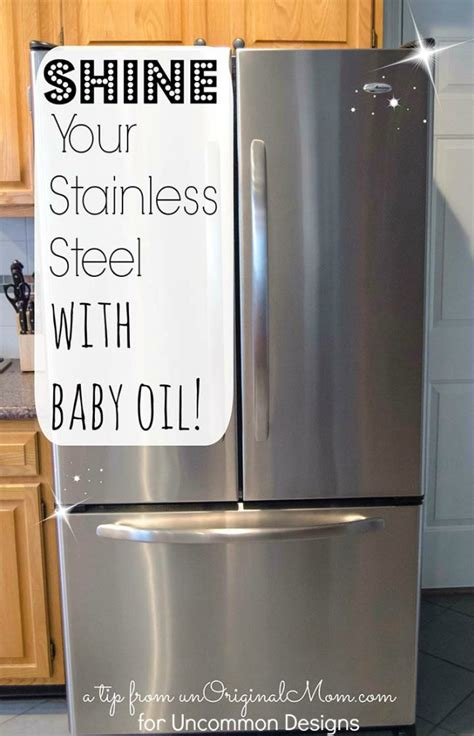 how to clean stainless steel how to clean stainless steel appliances with baby oil uncommon designs