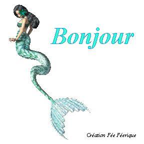 image de fee clochette qui bouge gif anim 233 bonjour avec une sirene qui nage creation de la fee feerique le de la f 233 e