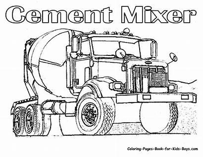 Coloring Pages Trucks Tow Truck Popular