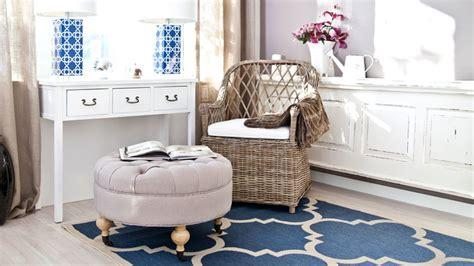 tapis bleu marine westwing decoration