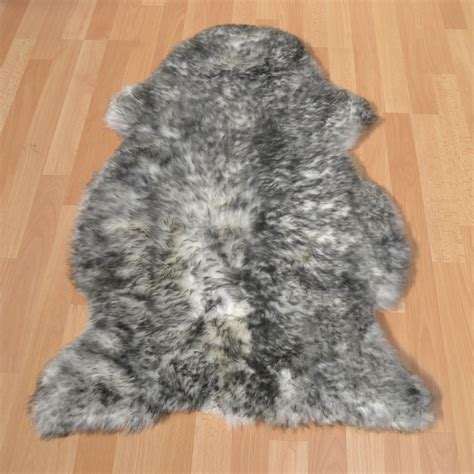 Bowron Sheepskin Rugs In Twilight  Free Uk Delivery The