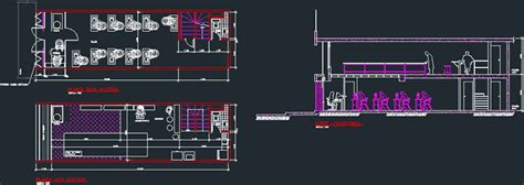 store boutique clothing company dwg plan  autocad designs cad