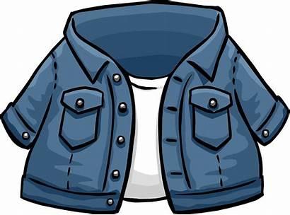 Jacket Jean Icon Penguin Clubpenguin Wikia Revision