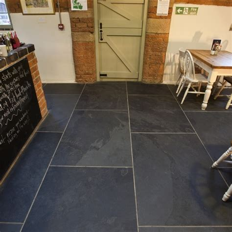 large 20mm thick black calibrated slate tiles mrs