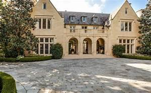 $21 Million English Tudor Revival Stone Mansion In Dallas ...