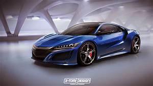Upcoming Honda NSX Type R Rendered - GTspirit